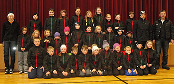 Langlaufgruppe WSV Au und WSV Schopernau